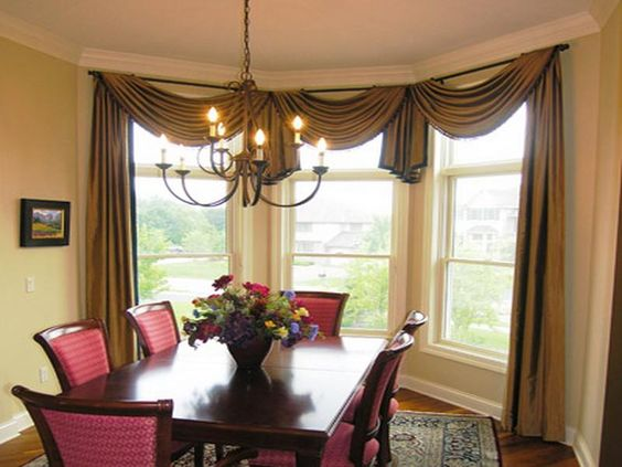 Dining Room, Small Picture Beside Slide Window Plus Calm Dining ...