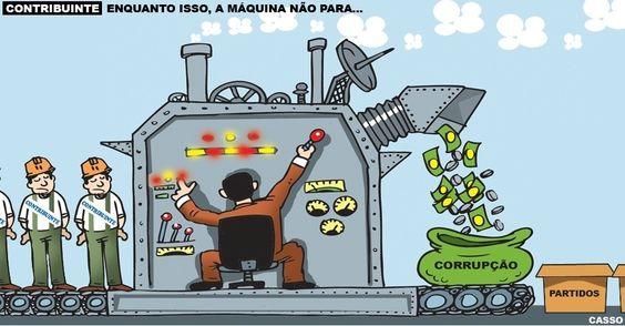 Enquanto o povo se distrai vendo os Jogos Olímpicos, a corrupção continua: