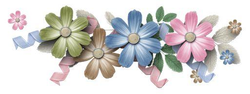 Molduras florais para o Dia das Mães
