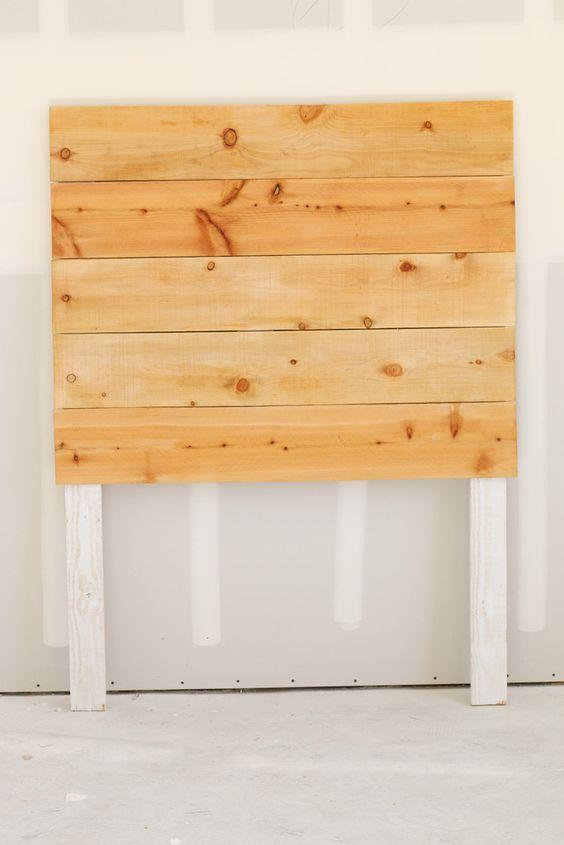 Easy DIY Wood Headboard Tutorial | Simple and modern #bedroom