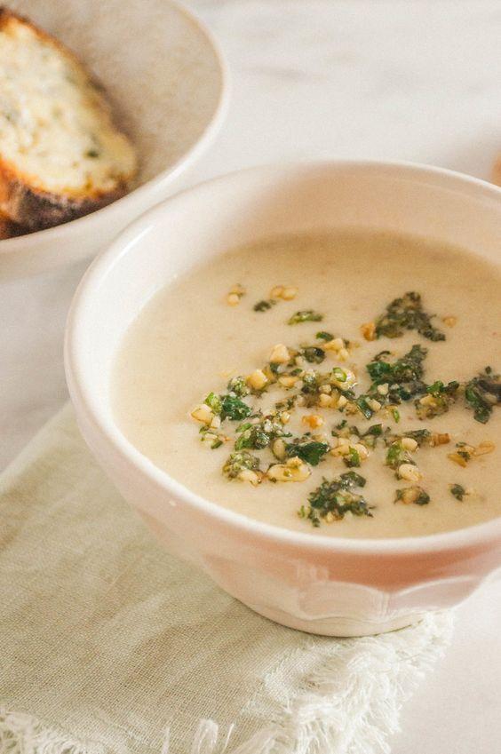 Summerfield Delight   Jerusalem Artichoke Soup from the Nopi Cookbook