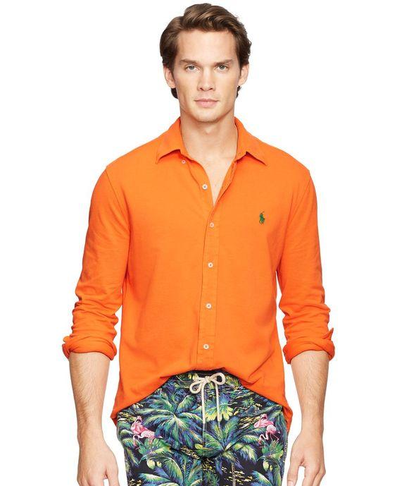 Polo Ralph Lauren Featherweight Mesh Button-Down Shirt