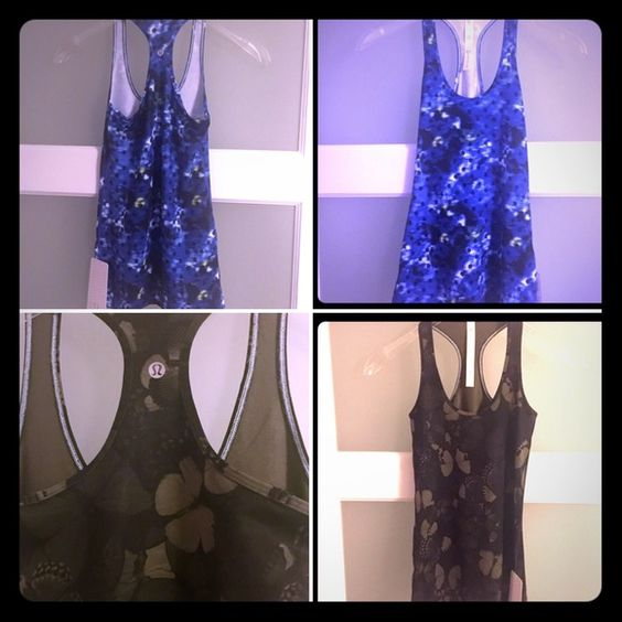 2⚡️NWT⚡️Lululemon Cool Racerbacks This listing is for TWO BNWT Cool Racerback Tanks - pic 2 has item description lululemon athletica Tops Tank Tops