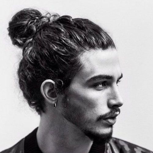 50 Best Curly Hairstyles Haircuts For Men 2021 Guide Curly Hair Men Wavy Hair Men Man Bun Hairstyles
