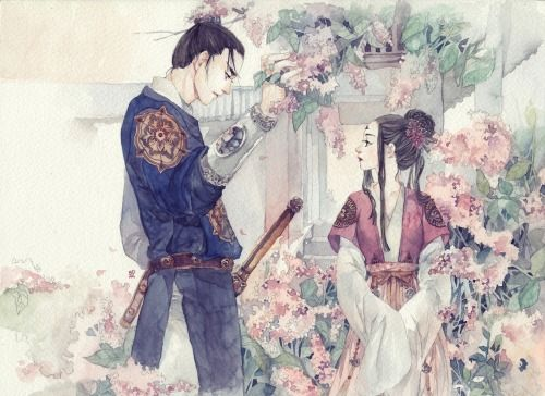 Chang Ge Xing and Ashina Sun by Dark134 | Absolutely stunning!