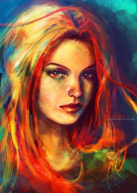 Beautiful women, Oil paintings and Paintings on Pinterest