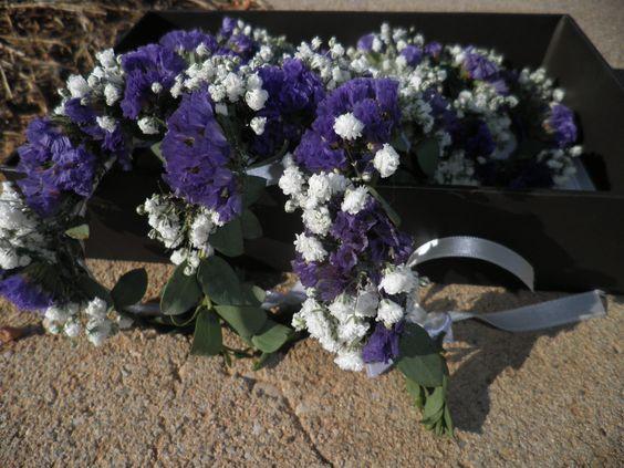 Pulseritas para damas de honor en azules y blancos Coleccion Petty 2014