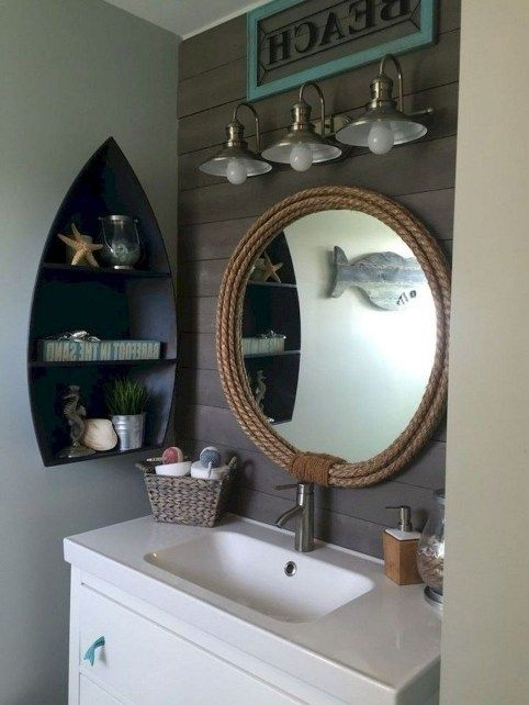 39 Stylish Coastal Nautical Bathroom Designs Ideas Nautical