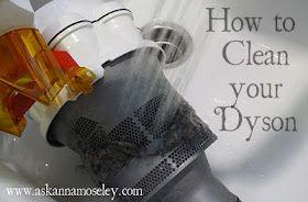 Clean my dyson!