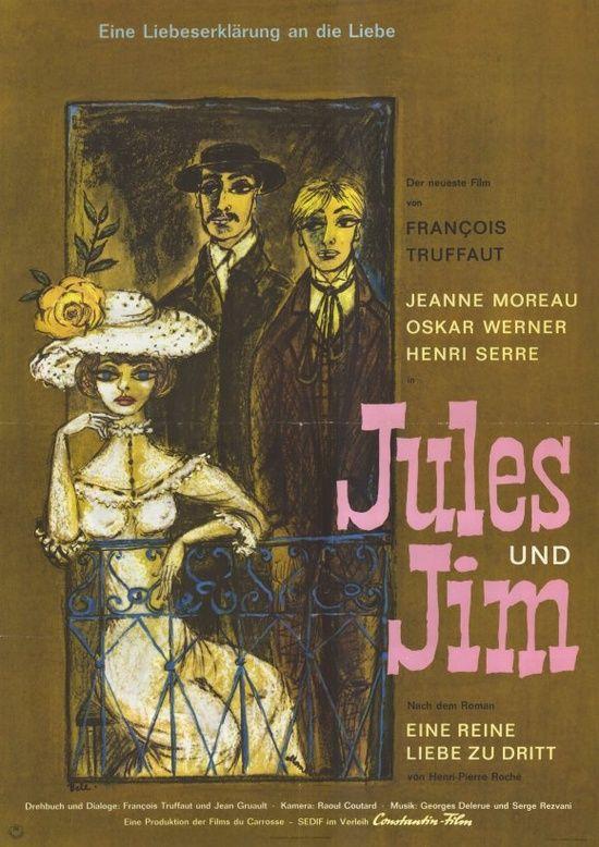 Jules et Jim ~Truffaut-1962
