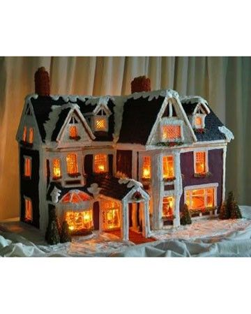 Amazing Gingerbread House Luxury Real Estate