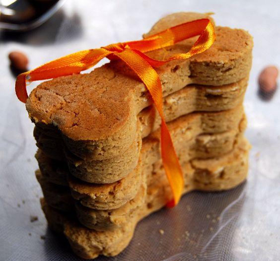 Gluten-Free Peanut Butter Dog Biscuits
