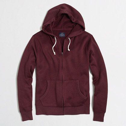 J.Crew Factory - Factory mountain fleece full-zip hoodie