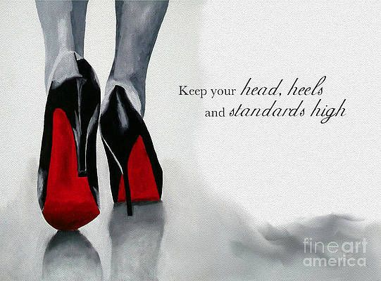 I6 inspirational quote inspirational for her inspirational wall art inspirational gifts for women stilletto heels stilletto