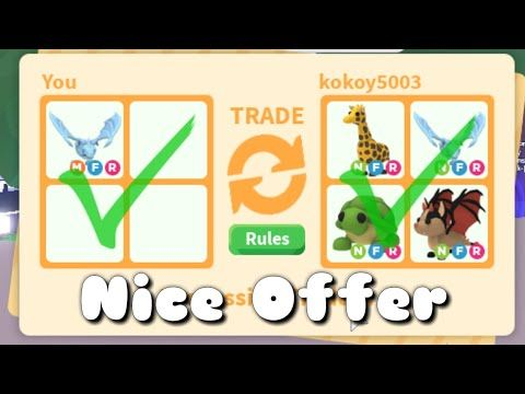 What People Trade For Mega Neon Frost Dragon Giveaway Roblox Adoptme Youtube Pet Adoption Birthday Party Pet Adoption Party Pet Adoption Certificate