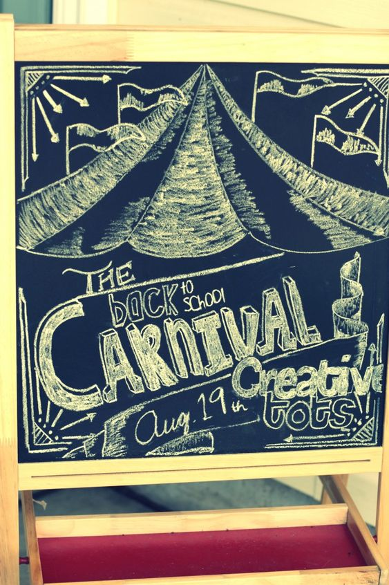 Creative Tots » Blog Archive » Back to School Carnival Welcome Sign ...