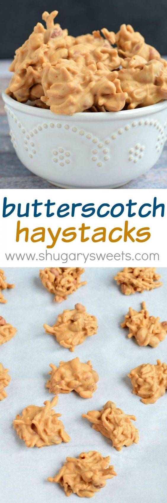 haystack cookies cookies and butterscotch haystacks on