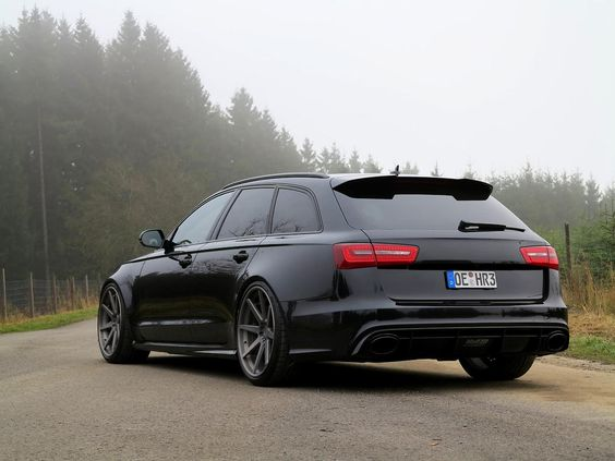 That is one seriously badass Audi wagon. Now all it needs are the little school spirit and ballet/sports stickers on the back.