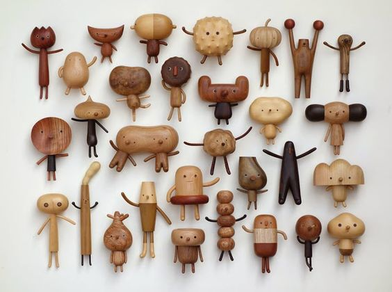 Yet again Yan Ruilin's 閻瑞麟木工創作, creations made me gasp with joy the wonderful diversity and incredible craftsmanship is astounding.