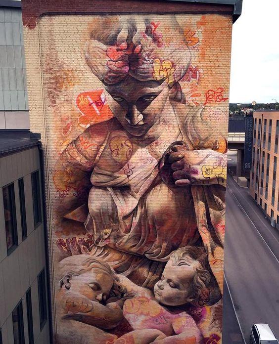 """""""Nuevas murallas y lienzos"""" creado por Pichi & Avo"""