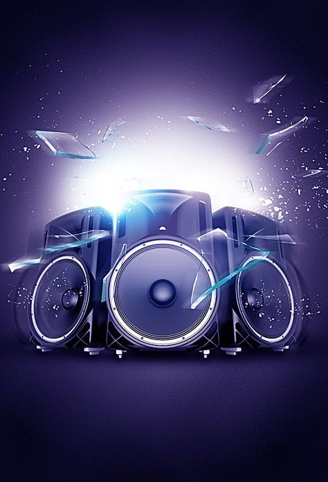 Creative Music Posters Music Backgrounds Music Poster Dj Images
