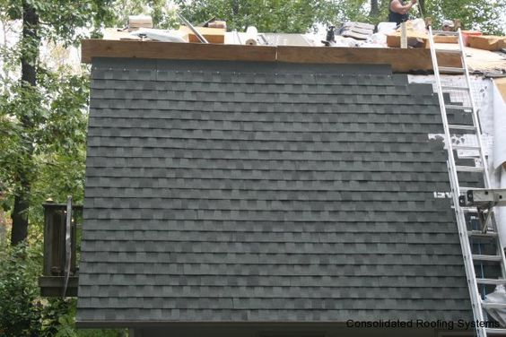 Best Gaf Timberline Hd Architectural Shingle In Slate Installed 400 x 300
