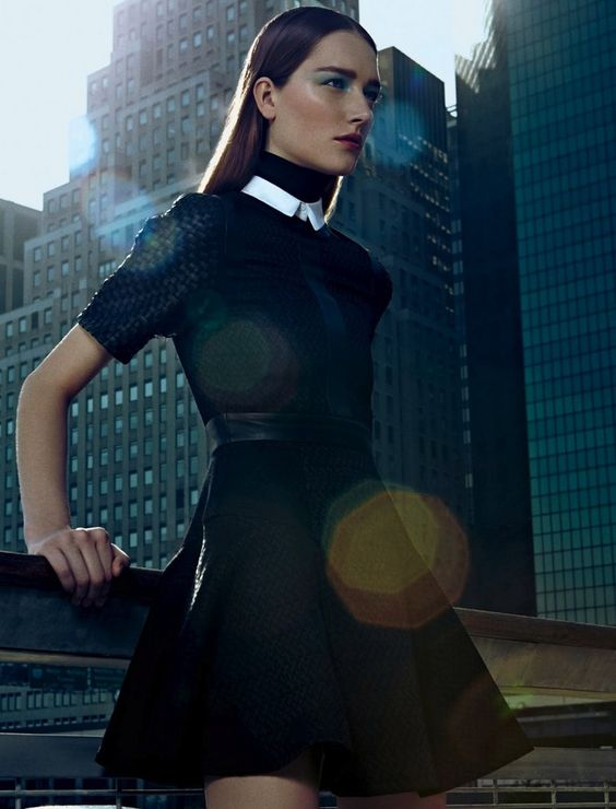 Josephine Le Tutour by Fabio Bartelt for Harper's Bazaar Brasil August 2013