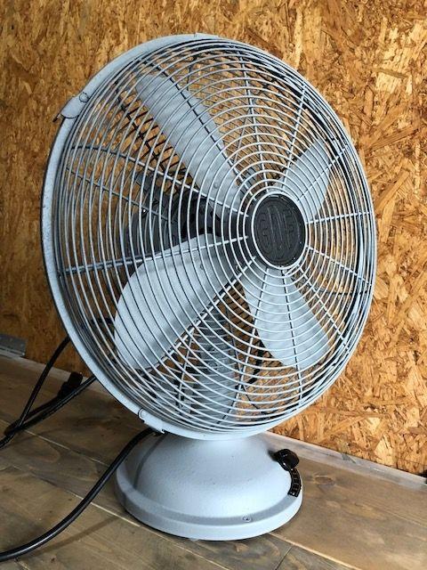 ニトリ レトロ扇風機をアメ雑に加工する 完成 扇風機 レトロ ニトリ