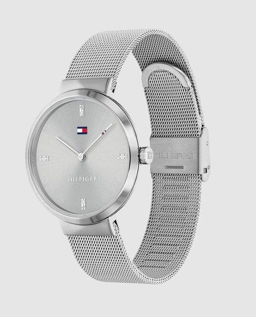 Reloj De Mujer Tommy Hilfiger 1782220 De Malla De Acero Tommy Hilfiger Relojes Tommy Hilfiger Reloj De Mujer