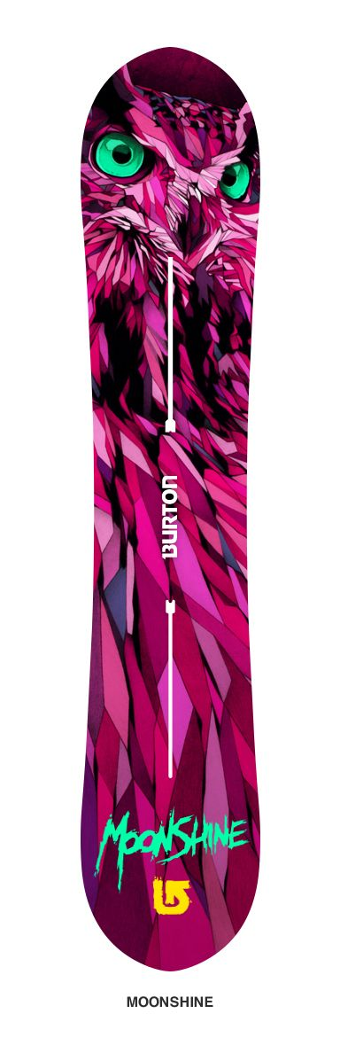 Two winning designs will be selected and used exclusively as the new 'Moonshine' and 'Speak Easy' Burton snowboard models.