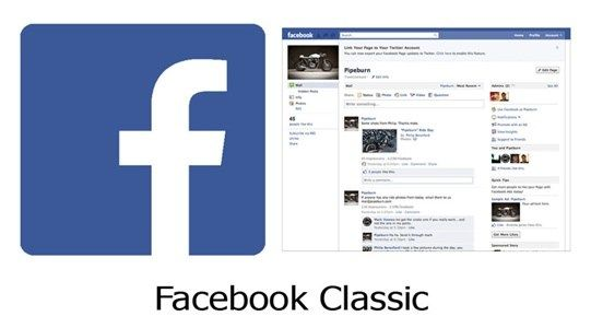 Facebook Classic How To Switch Back To Classic Facebook The New Facebook Design And Features Old Facebook Facebook Design All Social Media Apps