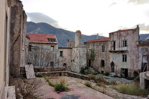 Balestrino Ghost Village | Atlas Obscura