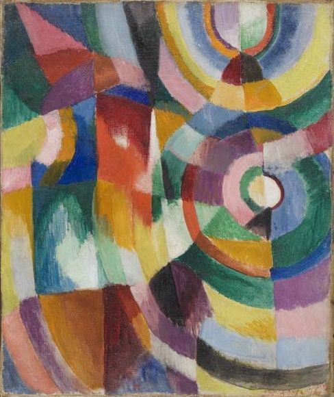 'Electric Prisms' (1913) by Sonia Delaunay