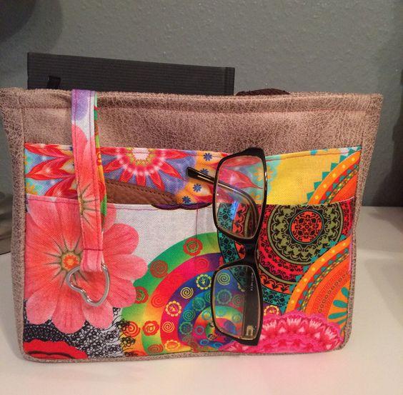 Taschenorganizer - Taschenorganizer, Kunstleder - ein Designerstück von Kleine-Wollbude bei DaWanda
