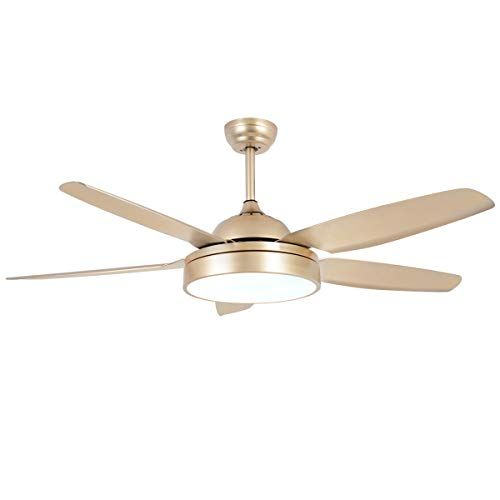 Ceiling Fan Chandelier With Led Light And 5 Blades Champa Https