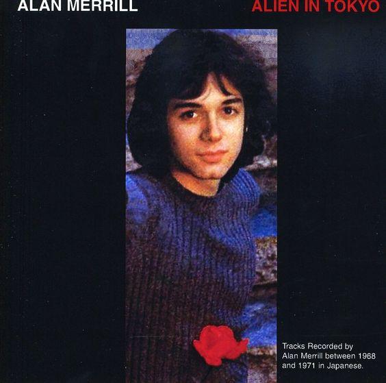 Alan Merrill - Alien In Tokyo, Black