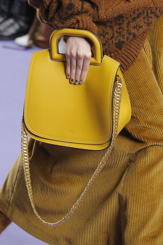 Mulberry Autumn/Winter 2017 Ready to Wear Details