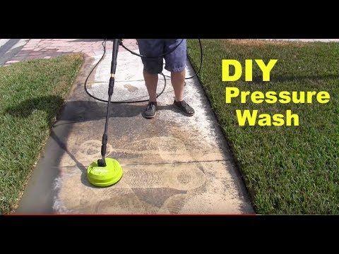 Sidewalk Cleaner Diy Pressure Washing Concrete Cleaner Surface Cleaner