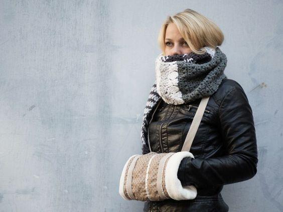 Warm Winter Muff #DIY:
