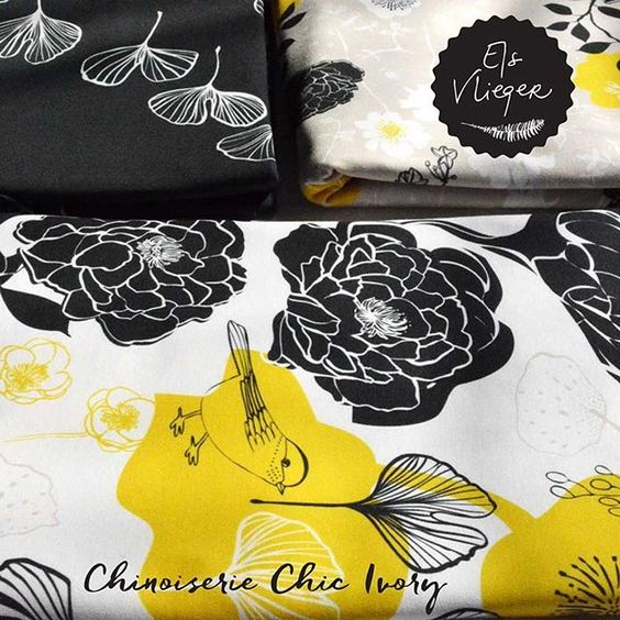 Chinoiserie Chic Collection at Spoonflower.: