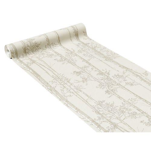 Papier Peint Intisse Aurele Coloris Lin Papier Peint Papier