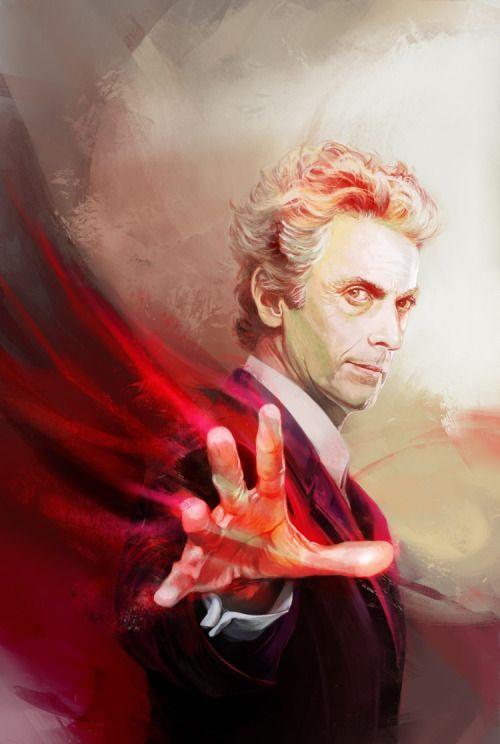 """kittrose: """" Twelve! (Cover art for Doctor Who: Supremacy of the Cybermen #1, ©BBC/Titan Publishing.) """""""