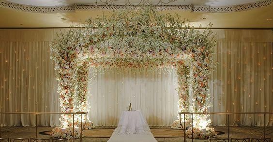 Floral Mandap, indian wedding,  #indianwedding, #shaadibazaar
