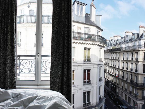 Glimpses from Paris, Hotel Emile, via http://www.scandinavianlovesong.com/