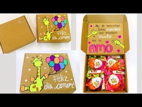 Ideas Para Decorar Una Caja De Pizza O De Carton Youtube Cajas Decoradas Hacer Cajas De Regalo Caja Para Mi Novio