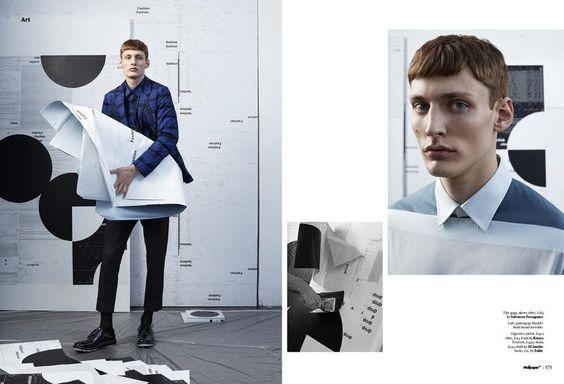 Wallpaper Magazine - Type cast