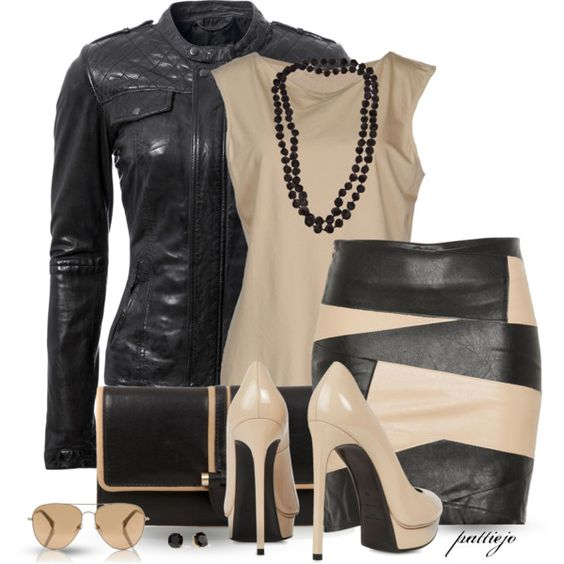 """""""She Loves a Black and Tan"""" by rockreborn on Polyvore"""