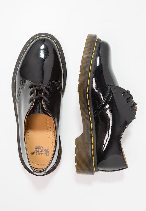 1461 3 Eye Shoe Patent Lamper Schnurer Black Zalando De Susse Schuhe Schone Schuhe Oxford Schuh