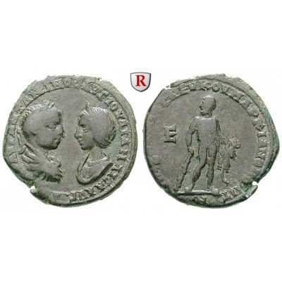 NEW  Römische Provinzialprägungen, Thrakien-Donaugebiet, Markianopolis, Julia Maesa, Großmutter des Elagabal, Bronze:… #coins