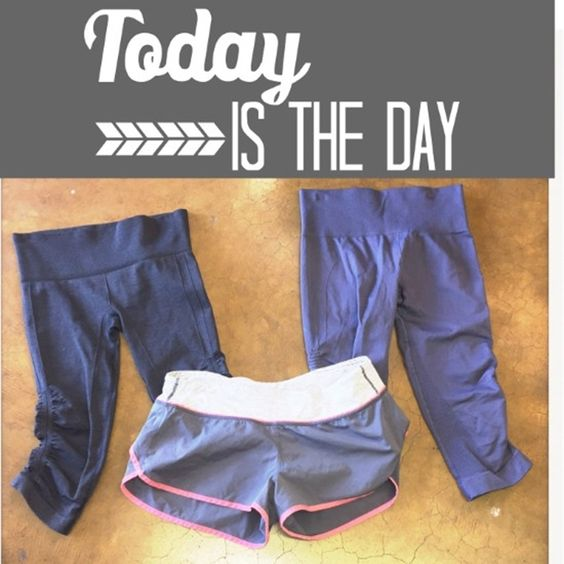 Lululemon!! - Need a little motivation for your workout? These adorable Lululemon bottoms may help! Seamlessly crops on the left, size 4.. On the right, size 6! Lululemon running shorts, size 8! #lululemon #getactive #Run #Hustle #Workit #ShopPosh #consignment #boutique